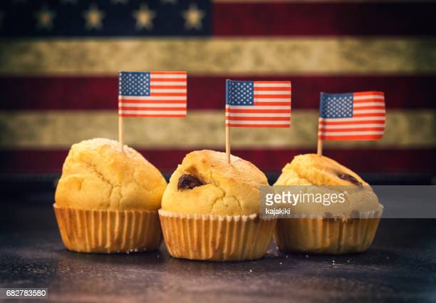 Sweet American Cupcake for 4th of july