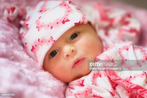 Sweet Baby Girl in Pink