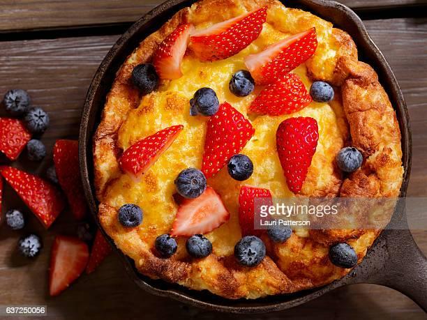 Sweet Berry Skillet, Dutch Baby Pancake