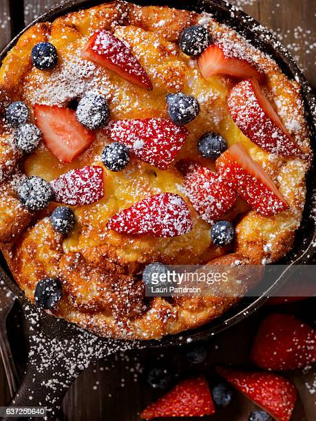 Sweet Berry Skillet, Dutch Baby Pancake