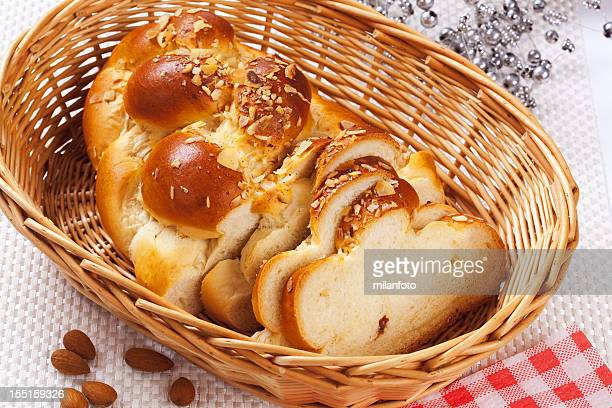 sweet bread - wicker stock pictures, royalty-free photos & images