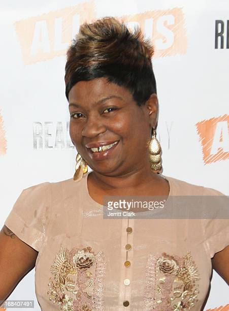 Sweet Brown attends Reality Runway By Ali And Kris at the Ali and Kris Showroom on May 8 2013 in New York City