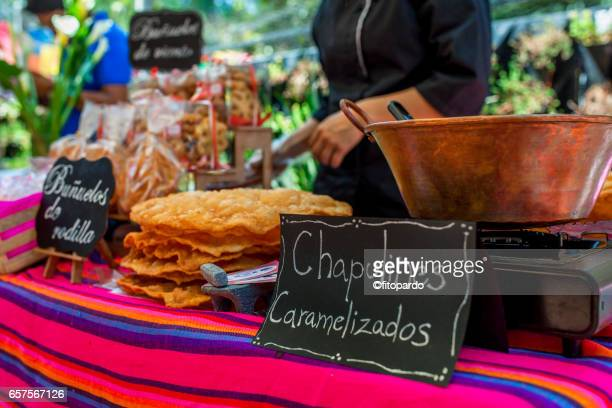 Sweet caramel edible Mexican Chapulines (grasshoppers)