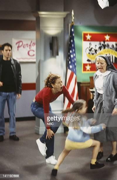 WILL GRACE Sweet Charity Episode 18 Air Date Pictured Eric McCormack as Will Truman Debra Messing as Grace Adler Debra Mooney as Sister Robert Photo...