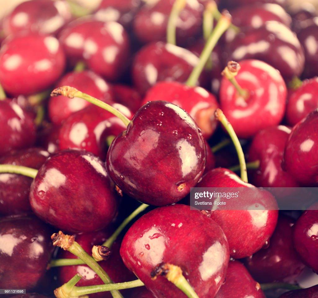 Sweet Cherries : Stock Photo