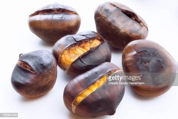 Chestnuts, close-up