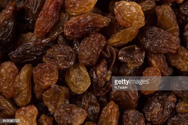Sweet dry raisins