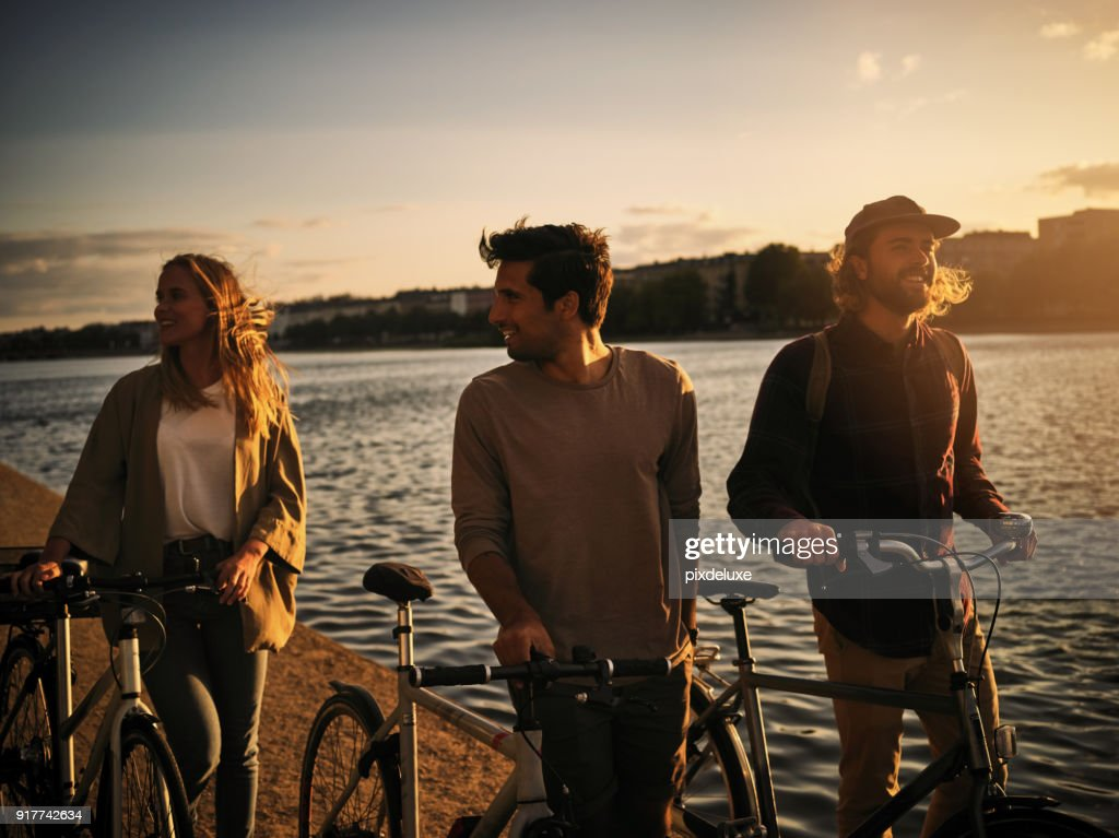 Sweet friendships refreshes the soul : Stock Photo