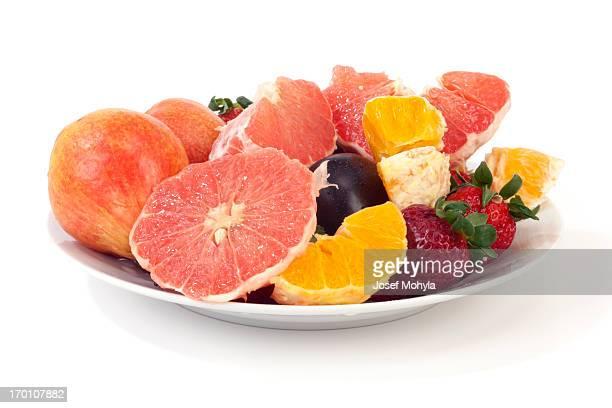 甘いフルーツの盛り合わせ