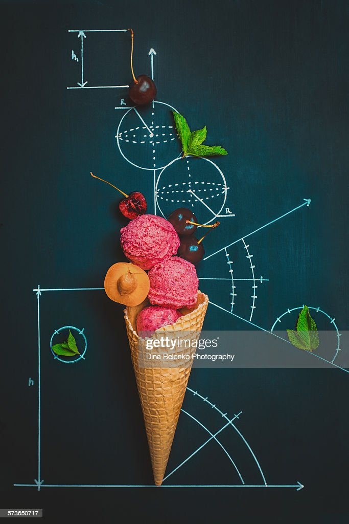 Sweet geometry : Stock Photo