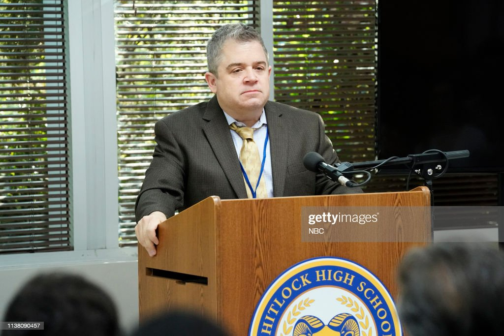 """sweet low road episode 209 pictured patton oswalt as principal durbin picture id1138090457 - A.P. Bio (S02E08) """"Sweet Low Road"""""""
