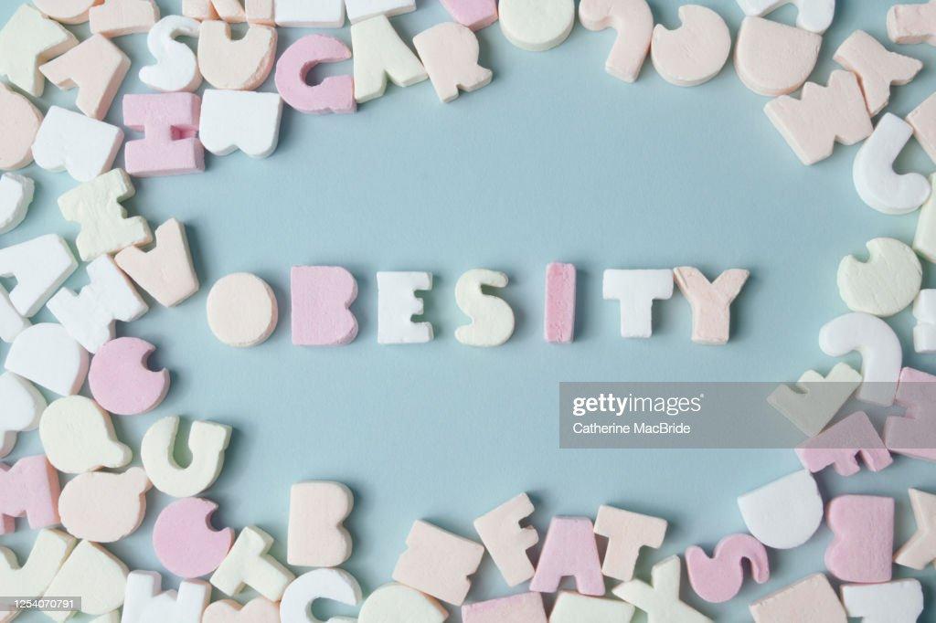 Sweet Obesity : Stock Photo