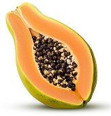 Sweet papaya three quarters