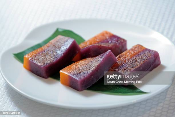 Sweet potato and sugar cane pudding at Hoi King Heen of the InterContinental Grand Stanford Hotel 18JAN16 SCMP/Bruce Yan