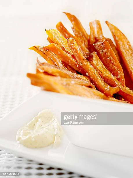 Sweet Potato French Fries with Sea Salt