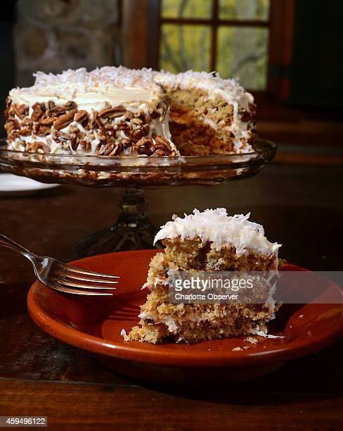 Sweet Potato Pecan Cake With CoconutPecan Cream Cheese Frosting adapted from 'Itâs Not Gourmet Itâs Better' by Eudora Garrison The original called...