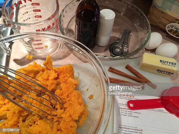 Sweet Potato Pie Ingredients