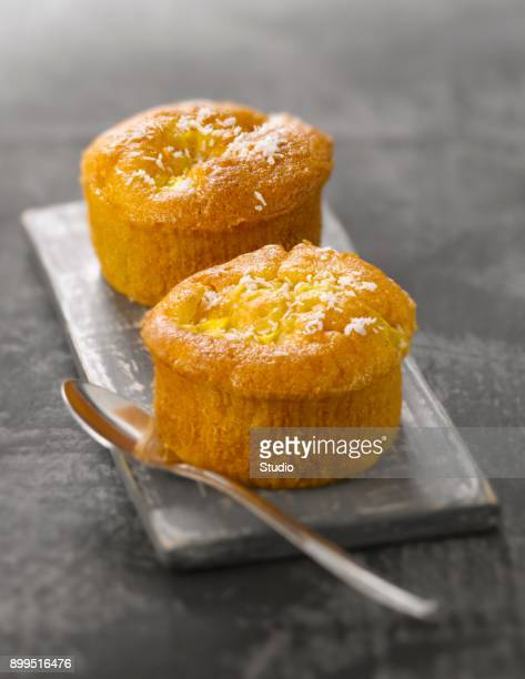 Sweet potato,coconut and mango muffins