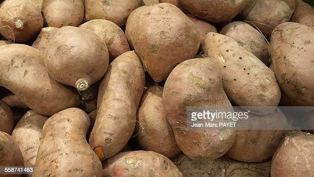Sweet Potatoes from organic agriculture.