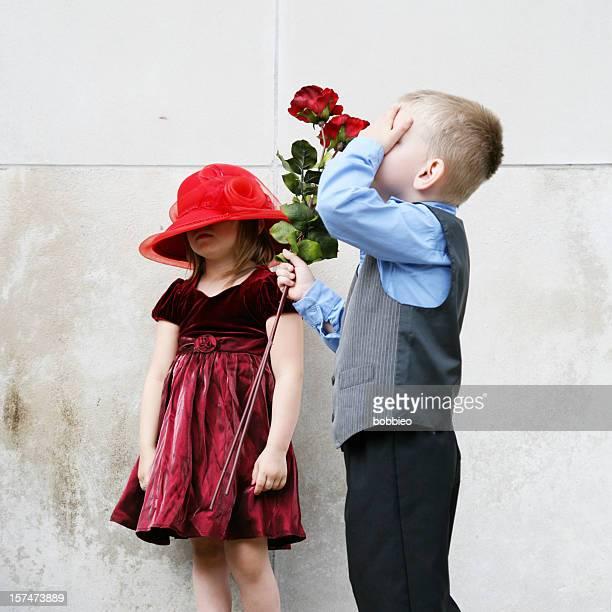 甘いロマンス - 一張羅 ストックフォトと画像
