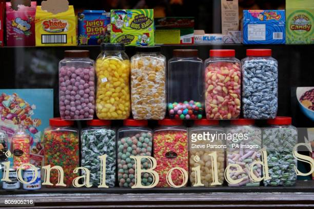 A Sweet shop in Wallingford Oxfordshire which sells boiled Sweets