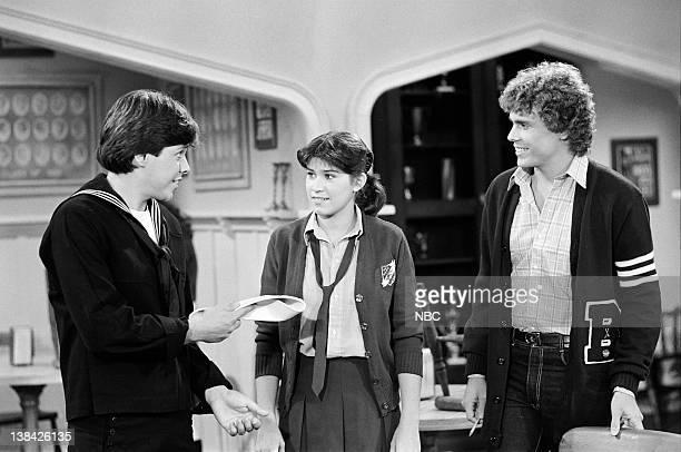 LIFE Sweet Sorrow Episode 7 Pictured Clark Brandon as Eddie Brennan Nancy McKeon as Joanne 'Jo' Polniaczek Shawn Stevens as Bob Perkins