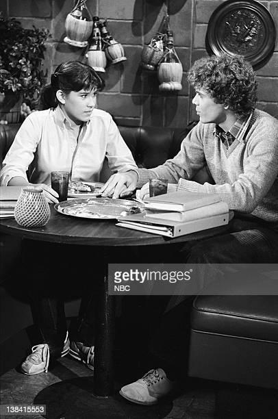 LIFE Sweet Sorrow Episode 7 Pictured Nancy McKeon as Joanne 'Jo' Polniaczek Shawn Stevens as Bob Perkins