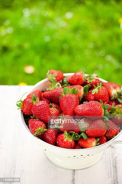 Süße Erdbeeren