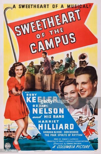 Ruby Keeler Harriet Hilliard Ozzie Nelson on poster art 1941