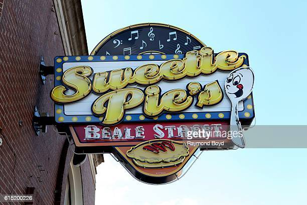 Sweetie Pie's Restaurant signage in Memphis Tennessee on October 3 2016