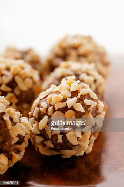 Sweets made from dried fruit and chopped nuts