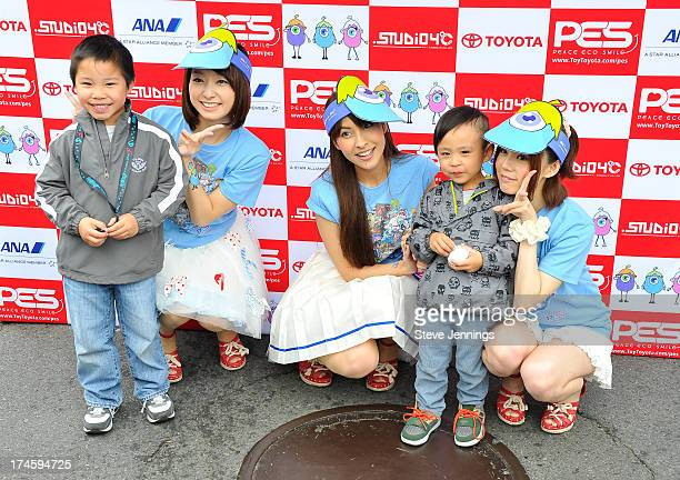 Sweety meet fans xxx during day one of the JPop Summit Festival at Japantown on July 27 2013 in San Francisco California
