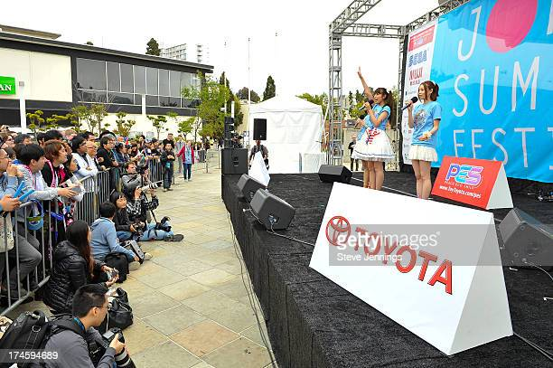Sweety perform xxx during day one of the JPop Summit Festival at Japantown on July 27 2013 in San Francisco California