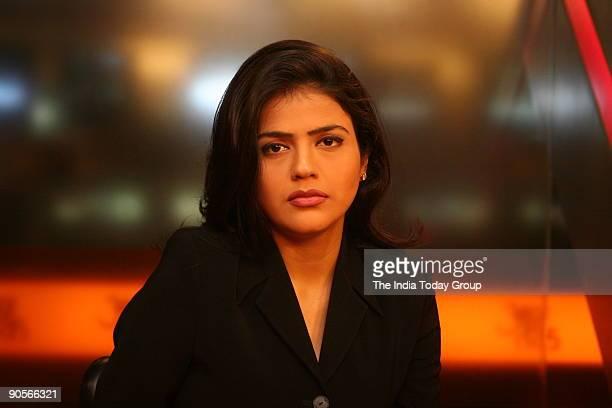 Sweta Singh Anchor Aaj Tak New Delhi