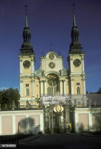 Swieta Lipka couvent baroque du 17ème siècle en 1979 en Mazurie Pologne
