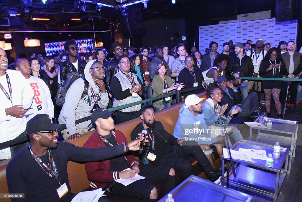 2016 ASCAP 'I Create Music' EXPO - ASCAP EXPO iStandard Producer And Rapper Showcase At OHM Nightclub : News Photo