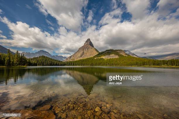 Swift Clouds at Swiftcurrent Lake