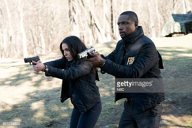 BLINDSPOT Swift Hardhearted Stone Episode 120 Pictured Audrey Esparza as Tasha Zapata Rob Brown as Edgar Reed