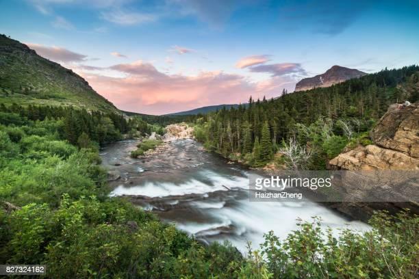 Swiftcurrent Falls - Glacier National Park, Montana