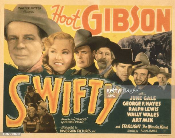 Hoot Gibson June Gale Wall Wales Gabby Hayes Ralph Lewis Art Mix William Gould 1935