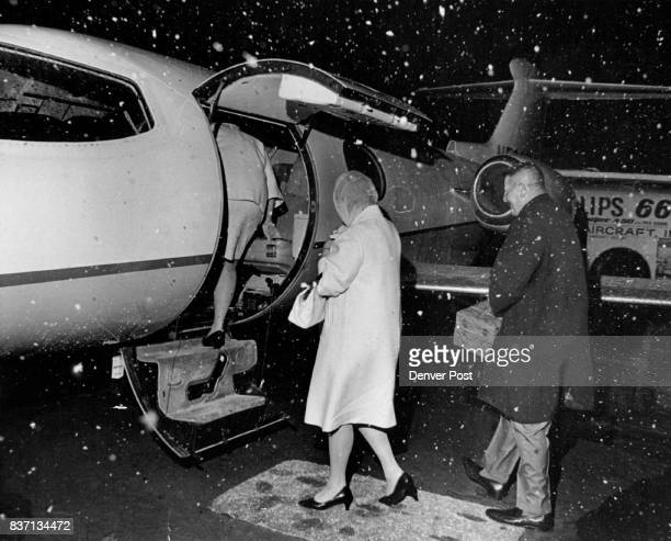 Swigert Family Boards The Learjet Provided By John M King Joining the Swigerts as far as Texas was a daughter Mrs Phillip Spinelli Credit Denver Post