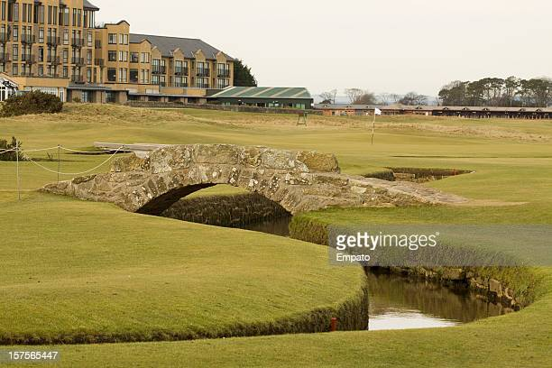 Swilken Bridge, St Andrews, Scotland.  The home of golf.