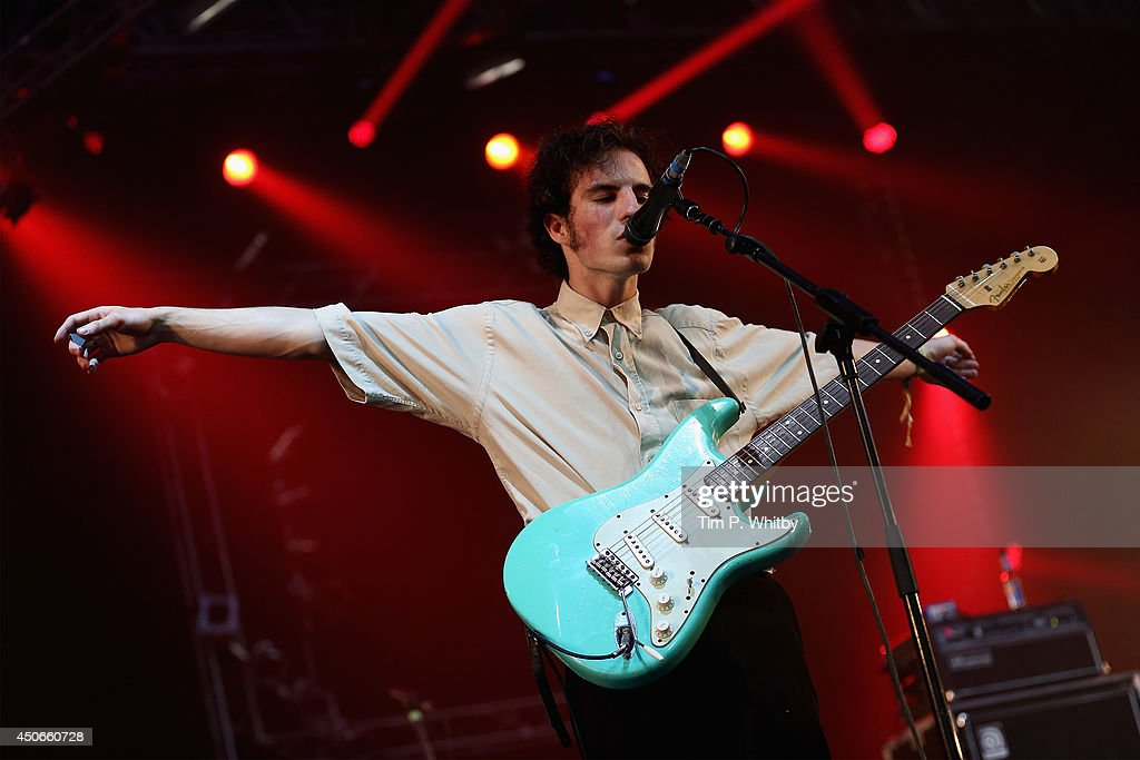 Swim Deep perform at The Isle of Wight Festival at Seaclose Park on June 15, 2014 in Newport, Isle of Wight.