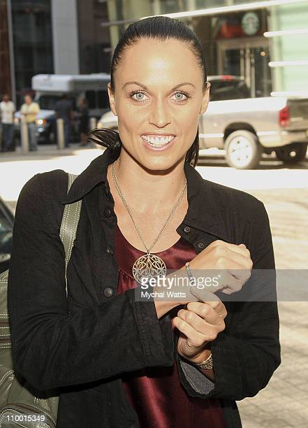 Swimmer Amanda Beard at the Carolee 35th Anniversary Celebration September 19 2007 at Le Cirque in New York City