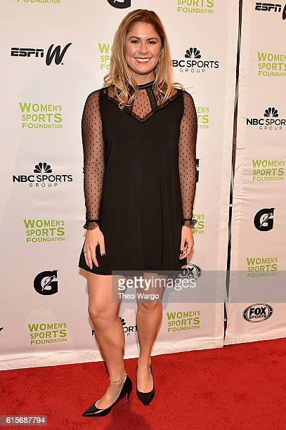 Swimmer Elizabeth Beisel attends the 37th Annual Salute To Women In Sports Gala at Cipriani Wall Street on October 19 2016 in New York City