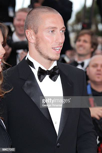 Swimmer Frederick Bousquet attends the 'The Princess of Montpensier' Premiere held at the Palais des Festivals during the 63rd Annual International...