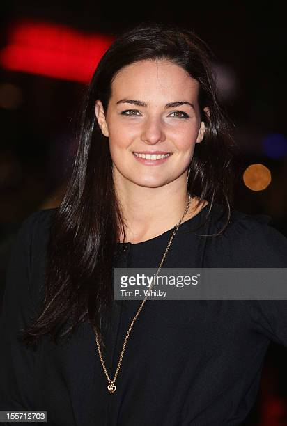 Swimmer Kerrianne Payne attends the World Premiere of Gambit at Empire Leicester Square on November 7 2012 in London England