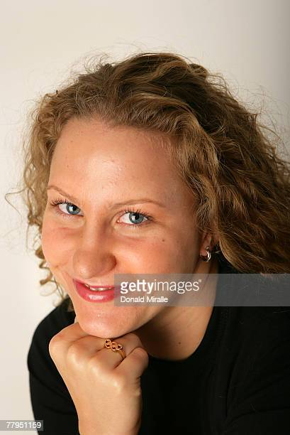 Swimmer Margaret Hoelzer poses for a portrait during the Athlete Summit at Smashbox Studios on November 16 2007 in West Hollywood California