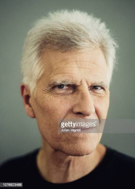 Swimmer Mark Spitz poses for a portrait on February 2018 in Monaco France