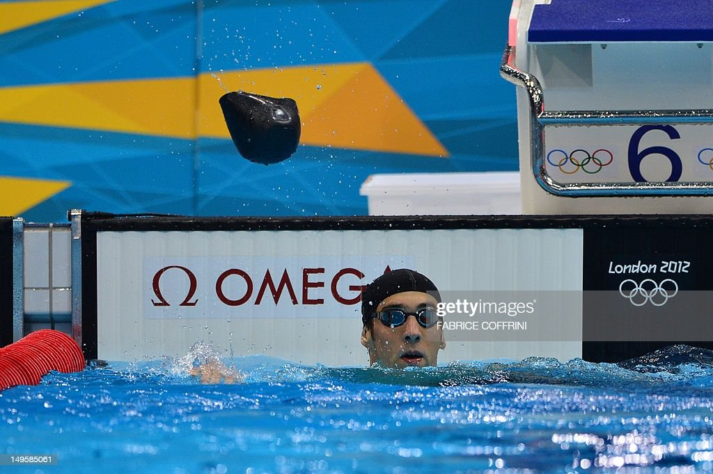 Us Swimmer Michael Phelps Throws His Swi Pictures Getty Images